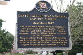 dexter avenue baptist sign